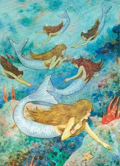 The Little Mermaid illustrated by Daniel San Souci