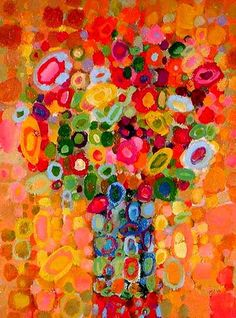 Glorious colour in these paintings by Angelo Franco