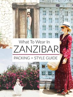 How to dress for Tanzania's big island - hint: dresses, dresses, dresses.