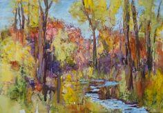 Richard McKinley pastel landscape