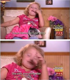 Oh honey boo boo....