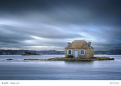 Slow-Chic - Google+ - Be inspired The small house on the water, Brittany, France