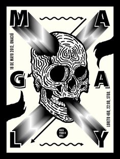 tomasdintrans:    Magaly Poster. http://soundcloud.com/magalyband  Tomás Dintrans. Chile, 2012