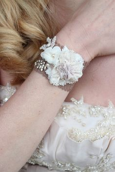 Vintage Wedding Bridal Cuff Bracelet