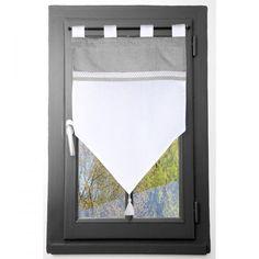 Tende a vetro x cm) Verona Adige Lino - Tende/Tende trasparenti/ Tende a rullo Store Bateau, Verona, Beige, Stores, Curtains, Mirror, Frame, Home Decor, Leroy Merlin