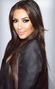 Those gorgeous eyes of hers: KimKardashianPics Beauty Make-up, Beauty Hacks, Hair Beauty, Femmes Les Plus Sexy, Make Up Looks, Brunette Hair, Long Brunette, Brown Hair Colors, About Hair