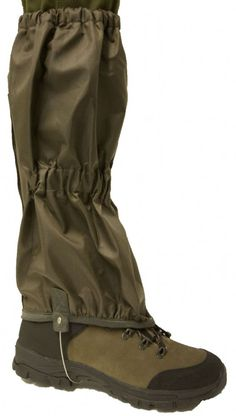Bisley - Canvas Gaiters Thornproof and waterproof gaiters Zip and velcro closure with press studs Tough under boot