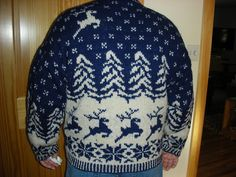 Ravelry: Project Gallery for Reindeer Pattern Pullover pattern by Vogue Knitting