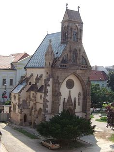 Slovakia, Košice - Chapel of St. Picture Places, Church Building, Gothic Architecture, Central Europe, Romanesque, Bratislava, Bosnia, Kirchen, Eastern Europe