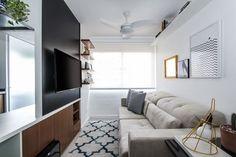 Décor esperto se destaca em apê de 48 m² em São Paulo (Foto: Divulgação)