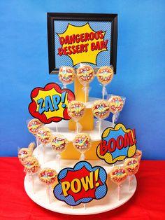 Superhero Staff Appreciation Week - Rice Krispy Pops