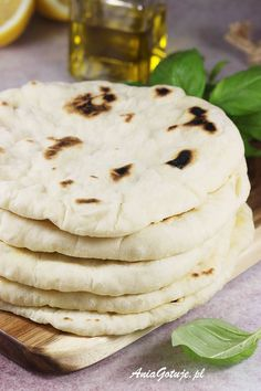 Pita | AniaGotuje.pl Camembert Cheese, Gluten, Breakfast, Ethnic Recipes, Food, Morning Coffee, Meals, Morning Breakfast