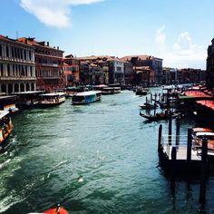 Dal Ponte di Rialto, Venezia Travel And Tourism, New York Skyline, Journey, The Journey