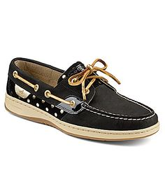 Sperry TopSider Bluefish Metallic Dot Boat Shoes #Dillards