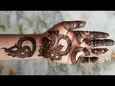 Eid special henna design for hands | unique henna design for 2017 - YouTube