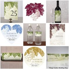 Vineyard themed weddings seem to work best in fall.  This stationery carries a vineyard theme.