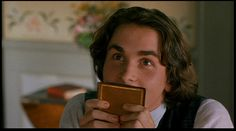 You know/love Christian Bale from Batman... I, for Laurie in Little Women!
