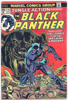 black panther comics images | ACTUAL COMIC BEING OFFERED - picture taken through plastic bag