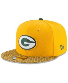 New Era Boys  Green Bay Packers 2017 Official Sideline 9FIFTY Snapback Cap 7660d13ac