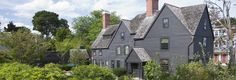 The House of the Seven Gables, Salem, MA. Made famous in Nathaniel Hawthorne's novel