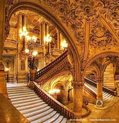 Paris opera house. Sing here in the future? I vote yes.