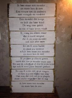 'Ik ben maar een moeder.' My Children Quotes, Son Quotes, Family Quotes, Words Quotes, Great Quotes, Wise Words, Qoutes, Life Quotes, Sayings