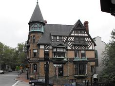 Rhode Island,built in 1885 for Dr. Carr, in the Queen Anne style. Great Places, Places To See, Rhode Island History, New England States, Seaside Towns, City Living, Interior Architecture, Interior Design, Where To Go