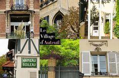 Paris — Et si on se promenait. Paris Secret, Grand Paris, Le Village, Mansions, House Styles, Rues, T5, Blog, Coins