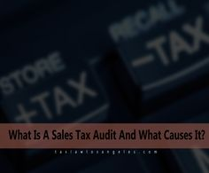 What Is A Sales Tax Audit And What Causes It?  A sales tax audit is an examination of a company's financial records by a government tax agency, to make sure a business is paying the correct amount of sales tax.