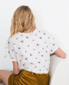 BASIC T-SHIRT from Zara