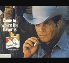 When was the last time you saw a commercial about buying cigarettes :)