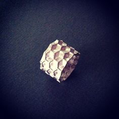 some honey?  Honeycomb silver cast.