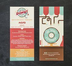 The Donut Experiment Identity Branding by Shari Margolin Design Co.