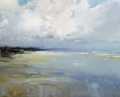 Ken Knight is an Australian plein air artist producing landscape paintings outside in oil in an Impressionist manner Abstract Landscape Painting, Seascape Paintings, Watercolor Landscape, Landscape Art, Landscape Paintings, Beach Paintings, Portrait Paintings, Watercolor Artists, Indian Paintings