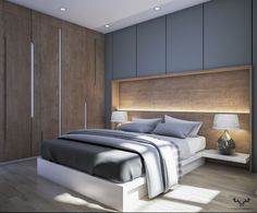 Modern Bedroom - Architecture and Home Decor - Bedroom - Bathroom - Kitchen And Living Room Interior Design Decorating Ideas - Modern Master Bedroom, Bedroom Furniture Design, Home Room Design, Modern Bedroom Design, Master Bedroom Design, Home Decor Bedroom, Apartment Interior Design, Bedroom Apartment, Home Interior