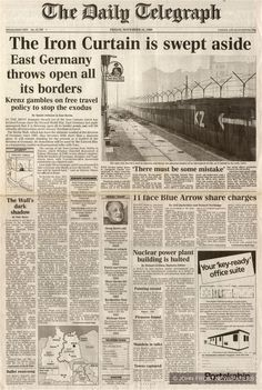 berlin wall newspaper - Buscar con Google