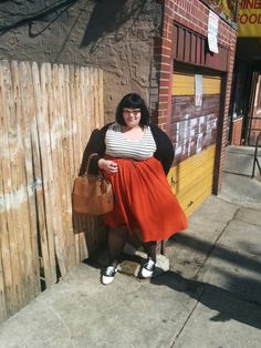 """cherryseltzer: """"some various ootds of me (featuring neutralize briefly ! clothes by merlin for lane bryant. Plus Size Vintage, Head To Toe, Sewing Ideas, Plus Size Outfits, Plus Size Fashion, Beautiful People, Midi Skirt, Tulle, Fat"""