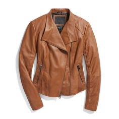 I like the look of this leather jacket - for the pockets, It would be nice if there were slip in pockets behind the zipper pocket but not mandatory.