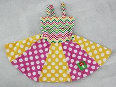 A little dress with dots