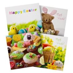 Easter cute fluffy bunnies poundlandeaster poundland easter easter cards 10 pack assorted designs easter gifts cards easter negle Images