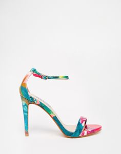 Image 2 ofSteve Madden Floral Barely There Sandals