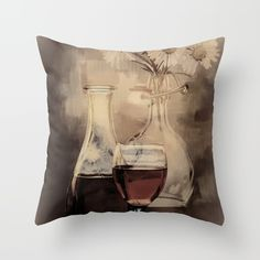 https://society6.com/daugustart?promo=XZ3WY26P3CNJ Click my link above for 20% off and free shipping #SALE on everything in my #Society6 shop!-Throw #Pillow made from 100% spun polyester poplin fabric, a stylish statement that will liven up any room. Individually cut and sewn by hand, each pillow features a double-sided print and is finished with a concealed zipper for ease of care.  Sold with or without faux down pillow insert.