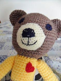 Desde o tempo da vovó...: Fininho, o ursinho magrinho - O primeiro boneco a gente nunca esquece