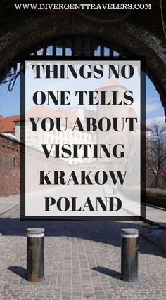 Things no one tells you about visiting Krakow Poland. Planning a trip to Krakow? Look no further, with the tips and hints from this article, you'll be the savviest tourist in the city. Click to read 3 Day Krakow Itinerary – Things to Do in Krakow #Poland #TravelGuide #Krakow