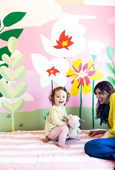 My friend Audrey just did something amazing in her home here in Berkeley: she painted abeautiful mural on the wall of her little girls' room without any formal painting experience beyond high school art classes. I was totally floored bythe result (and her bravery!). Here's what she had to say about the process, how she …