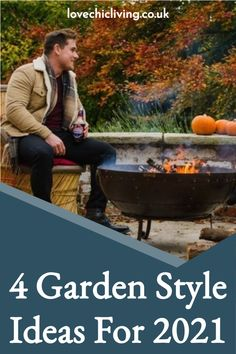There are lots of different types of garden styles, from English garden styling for modern french gardens. This post we'll show you our 4 favourite garden style ideas for 2021 that will make you want to rethink your small garden design. Now you'll know how to style a garden with these patio garden ideas, modern garden style designs, garden style ideas #lovechicliving Teak Garden Bench, Garden Sofa, Contemporary Garden Rooms, Small Garden Design, Garden Spaces, Outdoor Cooking, Style Ideas, Garden Ideas, Gardens