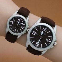 Jam Tangan Fossi Couple Premium