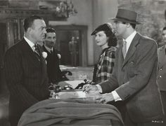Donald MacBride, Gail Patrick and Cary Grant in MY FAVORITE WIFE (1940).