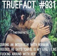 True Fact - Caryl - The Walking Dead