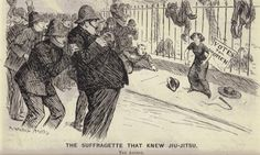 Edith Garrud: The woman who introduced jujutsu to the suffragette cause is honoured with a plaque on her London house.